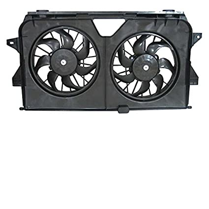 New Radiator Fans For Chrysler Town and Country Dodge Grand Caravan  2005-2008