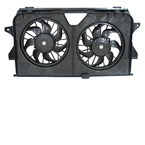 - New Radiator Fans For Chrysler Town and Country Dodge Grand Caravan 2005-2008 4677695AA 4677695AB 4677695AC 621370
