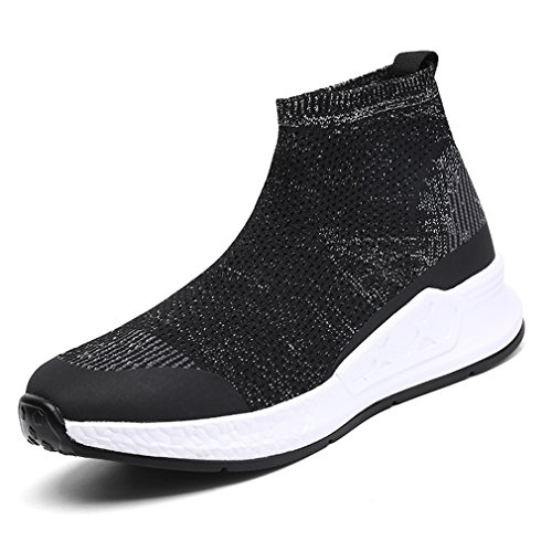 Elastic Socks Shoes Sneakers Shoes Black Wild Woman Shoes Tide black 5.5