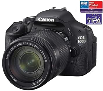 CANON 600D + objetivo EF-S 18-135 mm IS + Tarjeta de memoria ...