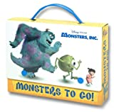 Monsters to Go, Melissa Lagonegro and RH Disney Staff, 0736420584