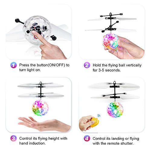 Review Flying Ball,Baztoy Kids Toys