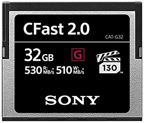 Sony 32 GB CFast 2.0 Profesional Flash Tarjeta de Memoria: Amazon ...