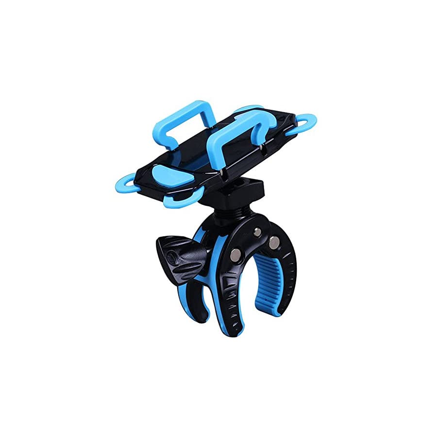 Bike Phone Mount Bicycle Holder Universal Cradle Clamp for Android iOS Smartphone GPS other Devices