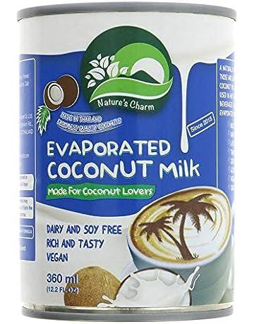 Natures Charm Leche De Coco Evaporada 360ml | Sin lactosa (Pack de ...