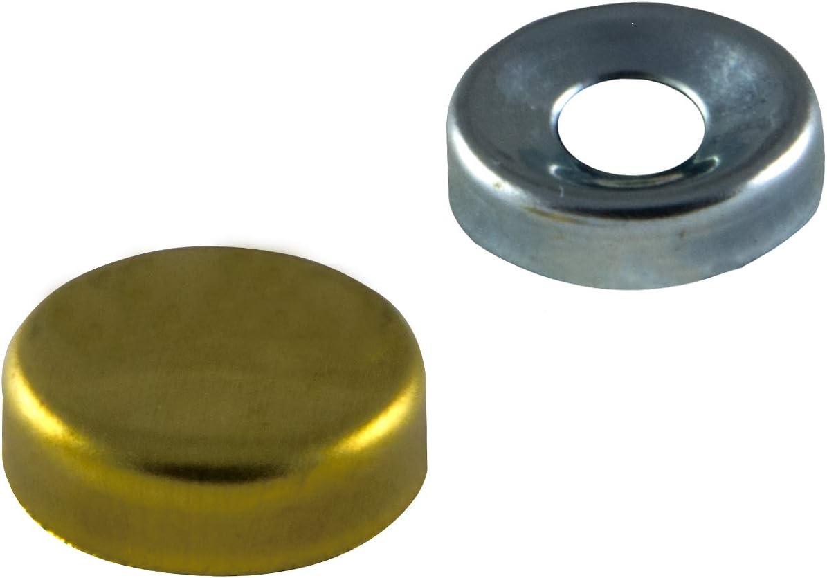 10 Tappi coprivite 12mm IROX Ottone Nichelato Spessore 4mm Tappo Copri Vite Viti 12 mm Copriviti nichel