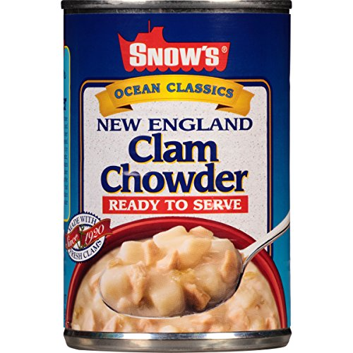 Bumble Bee Snow's Ocean Classics Ready to Serve New England Clam Chowder, 15 Ounce Can 12 (Best New England Clam Chowder)