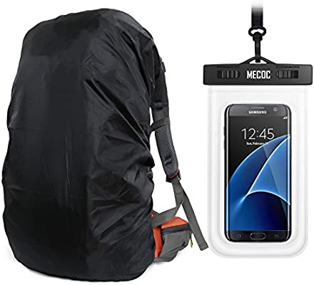 MECOC Ultralight Backpack Rain Cover   Cooling Towel or Cellphone Waterproof  Case 8ad6ff25330cd