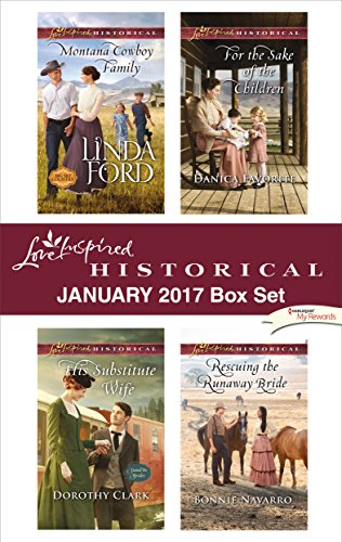 book cover of Love Inspired Historical January 2017 Box Set