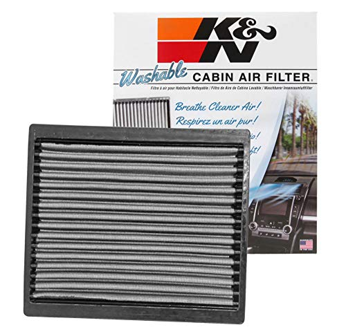 2008 Ford Mustang Air - K&N VF2020 Washable & Reusable Cabin Air Filter Cleans and Freshens Incoming Air for your Ford Mustang
