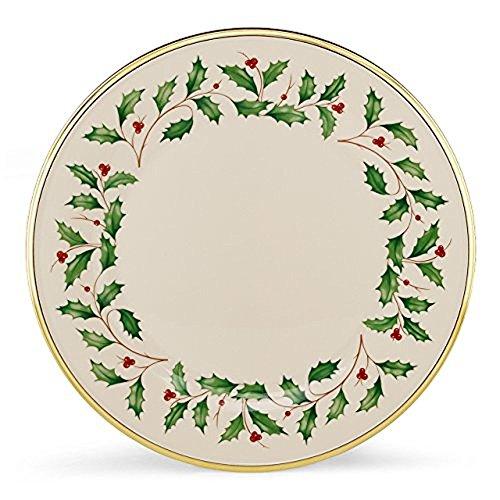 Lenox Holiday Dinner Plates, Set of 6