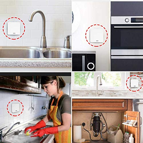 Luong Thanh Thuy Kitchen Food Waste Disposers Garbage Disposal Wireless Switch Remote Control Korea Plug 16A for 1HP Disposal No Drilling No Pipe Joint Water by LUONG THANH THUY (Image #3)