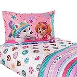 Nickelodeon Paw Patrol Girls Twin Bedding Sheet Set