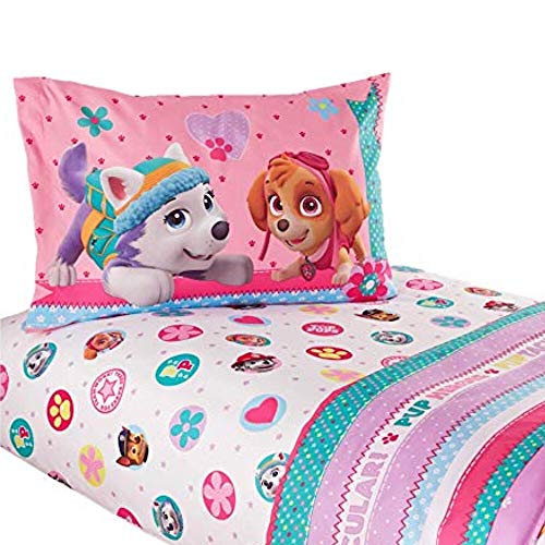 Nickelodeon Paw Patrol Girl Twin Sheet Set