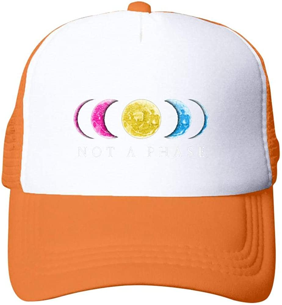 Casual Not A Phase Pansexual LGBT Pride:WUROIMK Sun Protection Summer Baseball Cap Adjustable Adult Net Cap
