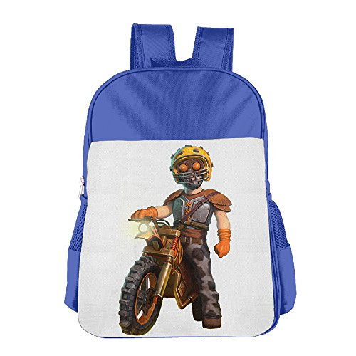 Price comparison product image Custom Trials Fusion Kids School Bagpack For 4-15 Years Old RoyalBlue
