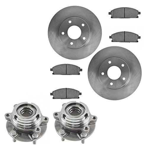 2005 nissan quest rotor kit - 7