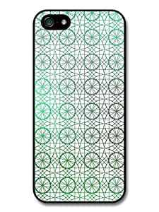 Circle and Geometrical Stained Glass Pattern case for iphone 5c