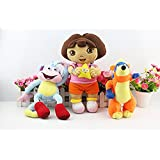 Dora The Explorer Monkey Swiper Fox Dora Soft Stuffed Plush Toy Doll Kids Gift