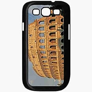 Unique Design Fashion Protective Back Cover For Samsung Galaxy S3 Case Colosseum Sunset Sky Black