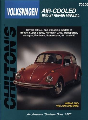 Volkswagen Air-Cooled, 1970-81 (Chilton Total Car Care Series Manuals) ()