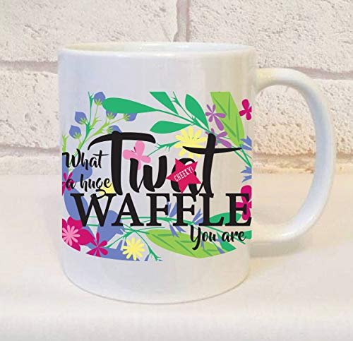 Twt Waffle Mug Tat Waffle Mug Gift Twat Gifts Twat for sale  Delivered anywhere in USA