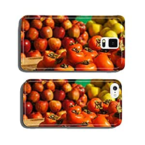 Persimmons fruit at the market in Pakistan cell phone cover case iPhone6 Plus