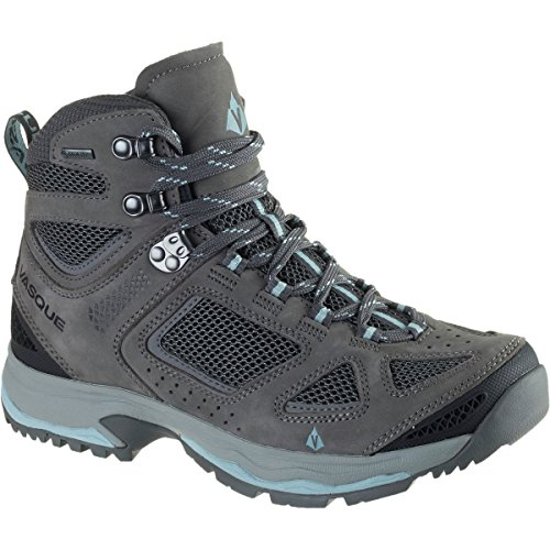 (Vasque Womens Breeze Iii GTX Hiking Boots, Gargoyle/Stone Blue (9))