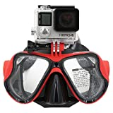 Best Diving Masks - TELESIN Dive Scuba Diving Mask w/ Mount Compatible Review