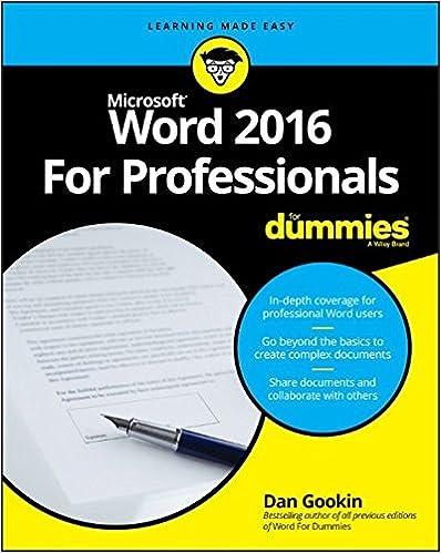 professional word document