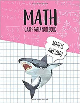 math graph paper notebook blank graph note book pages great white