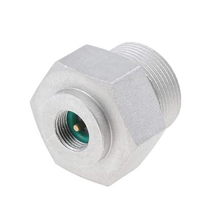 Sharplace Conector Conversión de Tanque de Gas de Estufa Picnic Estufa Conector Conversión - Plata