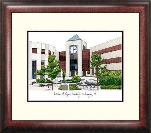 Michigan University Framed Lithograph - Western Michigan University Alumnus Framed Lithograph