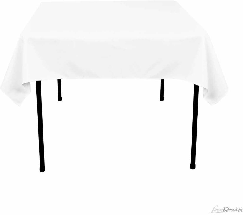 Pure White Linen Tablecloth Square Pure White Tablecloth linen Tablecloth Creamy White linen Tablecloth Rectangle White Linen Table Cloth