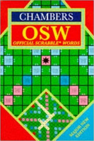 Chambers Official Scrabble Words: Amazon.es: Schwarz, Catherine: Libros en idiomas extranjeros