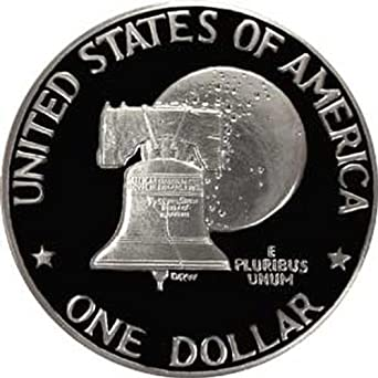 "1976-S Eisenhower Dollar /""BU/"" 40/% Silver Bicentennial US Coin IKE /""Beautiful/"""