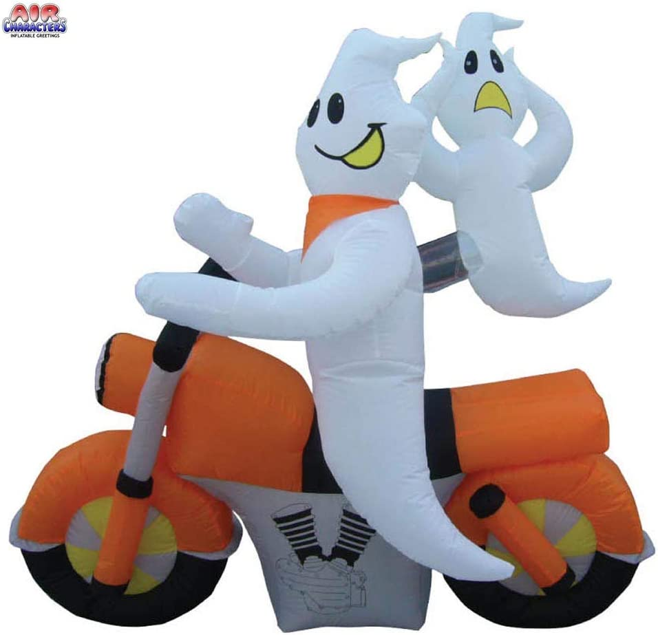 Ghosts on a Motorcycle Outdoor Inflatables