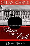 Front cover for the book Adam and Evil: An Amanda Pepper Mystery by Gillian Roberts