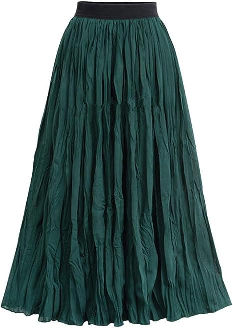 Briskorry - Falda de tul larga para mujer, falda larga para ballet ...