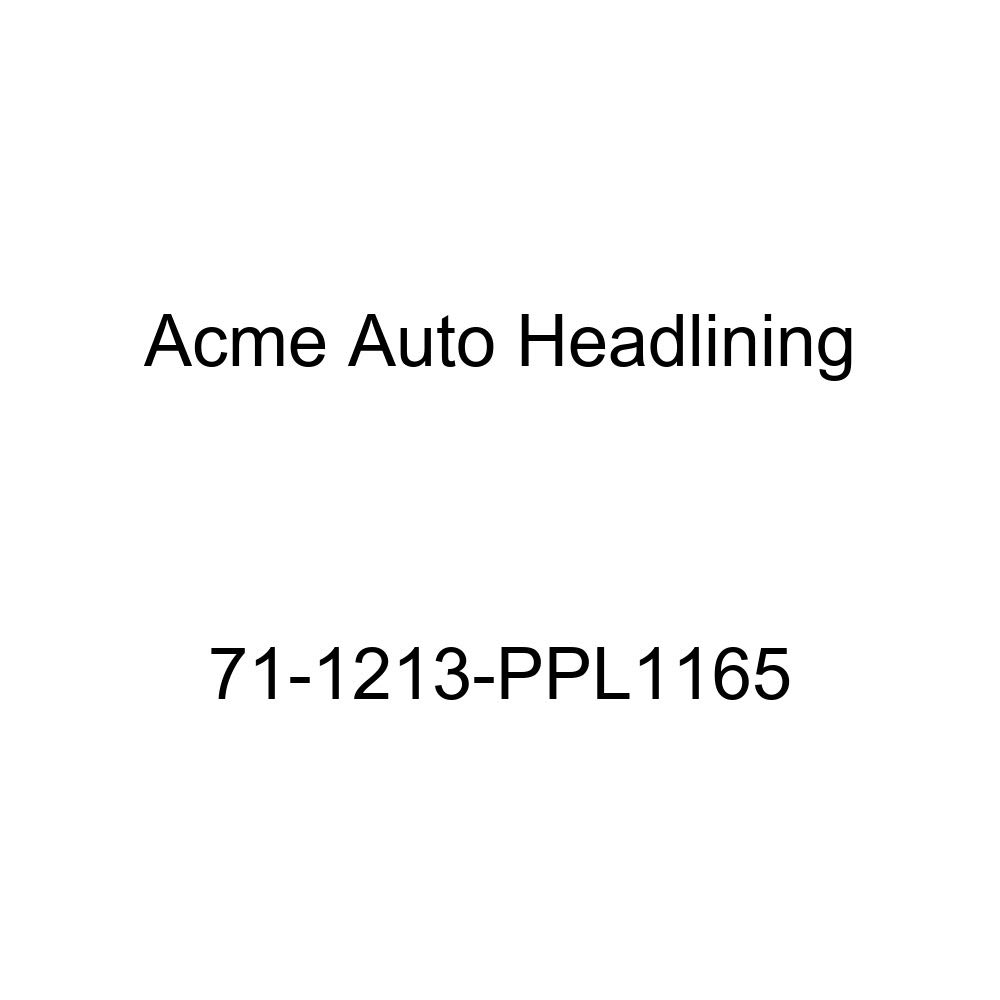 Acme Auto Headlining 71-1213-PPL1165 Black Replacement Headliner 6 Bow 1971 Oldsmobile 98 2 Door Hardtop