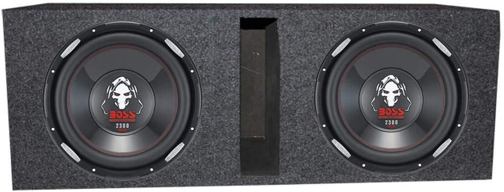 """Boss Audio P126DVC 12"""" 4600 Watt Car Subwoofers+Vented Sub Box Enclosure"""