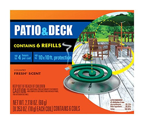 (16) ea SC Johnson Off! 75203 6 packs Mosquito Coil Refills by OFF!
