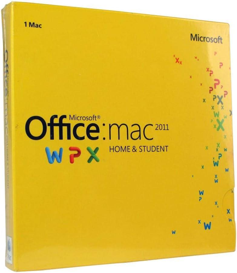 MICROSOFT Office MAC Home Student 2011