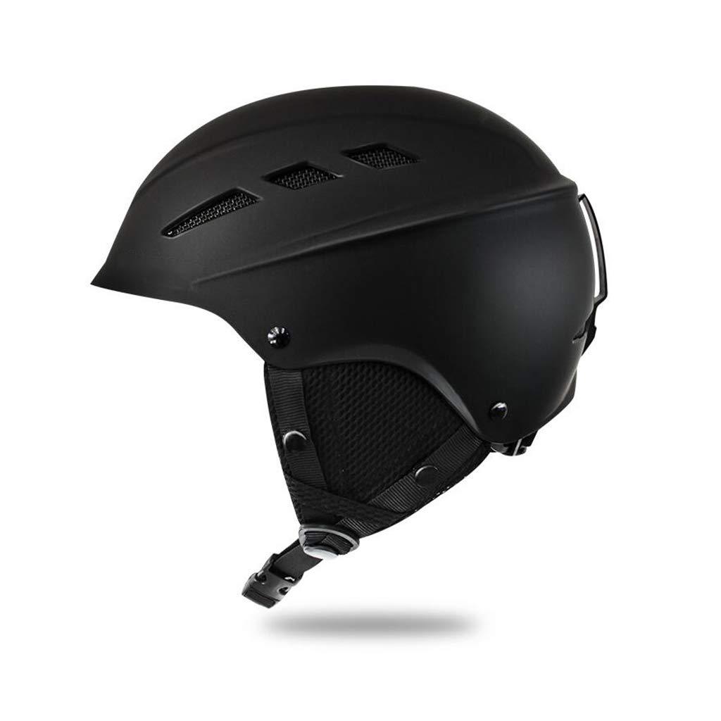 大人気定番商品 ヘルメット 子供用スキー ブラック&スノーボード用ヘルメット ヘルメット B07PVD39VC、子供用スキー用保護安全スケートボードスケート用ヘルメット B07PVD39VC ブラック ブラック, アンティークガレ:c35028f4 --- a0267596.xsph.ru