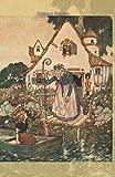 Cottage Garden: Beautiful Journal, Planner, Notebook Featuring Edmund Dulac Artwork (Joy, Inspiration & Delight)