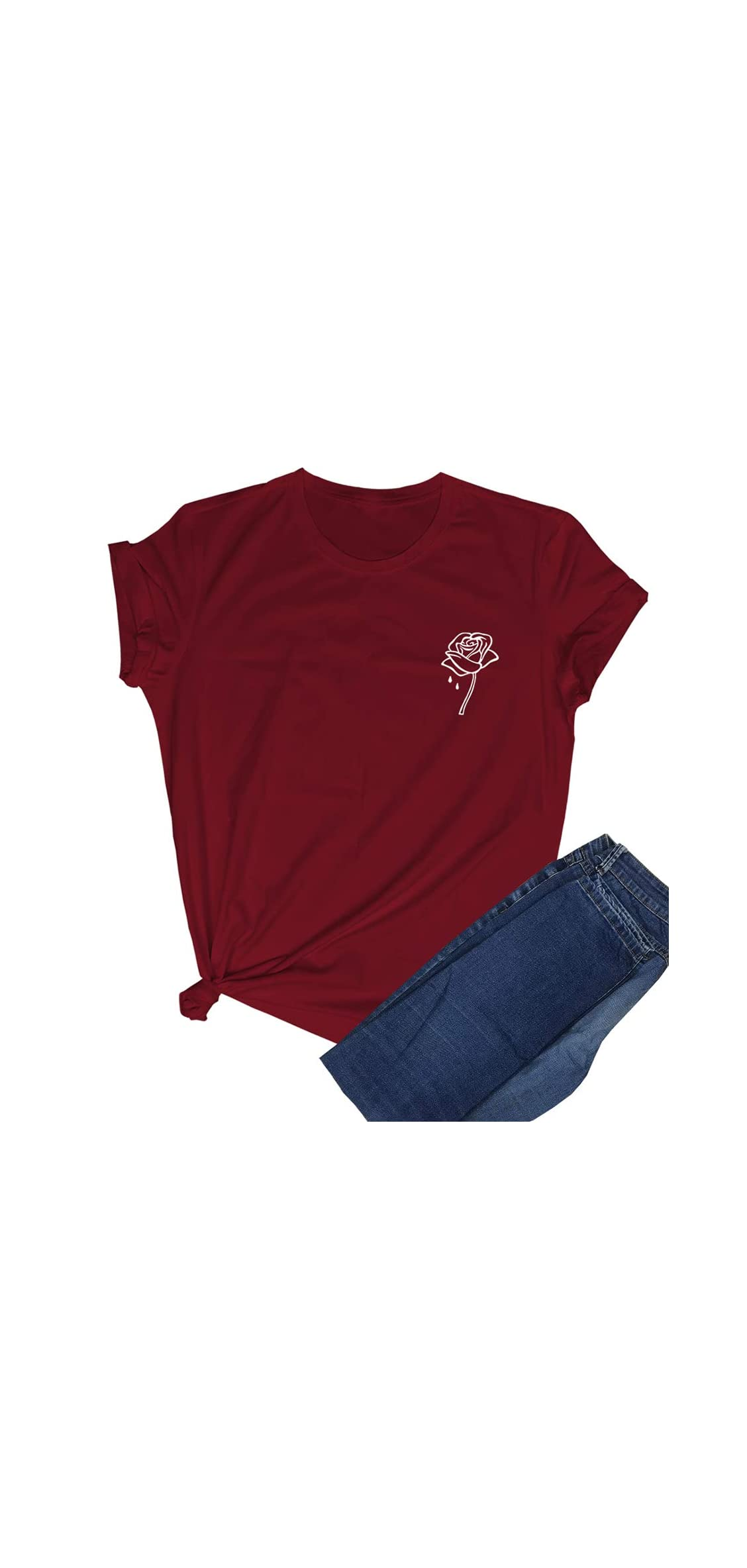 Women Cute T Shirt Juniors Graphic Tops