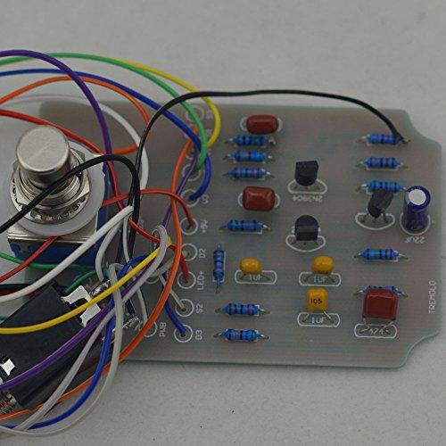ttone diy analog tremolo guitar effects pedal stompbox pedals kit aluminum enclosure unfinished. Black Bedroom Furniture Sets. Home Design Ideas