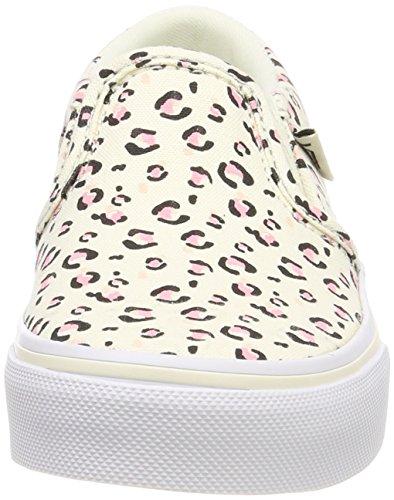Vans Unisex-Kinder Asher Sneaker Mehrfarbig (Sweet Cheetah)
