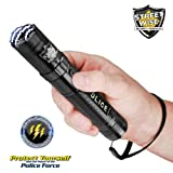 Streetwise Police Force 8,500,000 Tactical Stun Flashlight Available in Black or Gun Metal (Black)