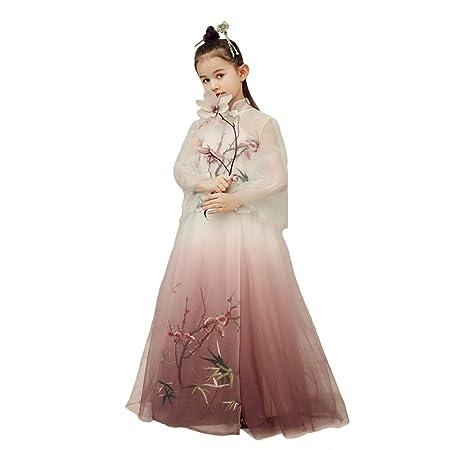 Ropa para niños Vestido de Baile de Falda de niña Cheongsam ...